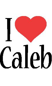 Caleb i-love logo