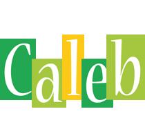 Caleb lemonade logo