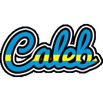Caleb sweden logo