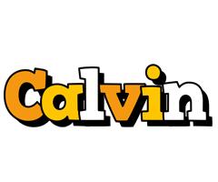 Calvin cartoon logo