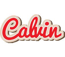 Calvin chocolate logo