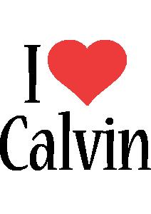 Calvin i-love logo