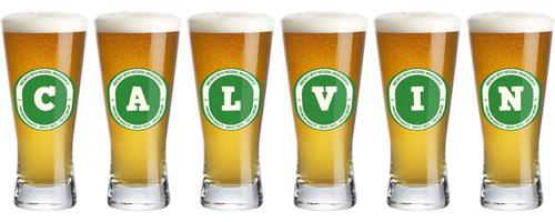 Calvin lager logo