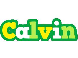 Calvin soccer logo