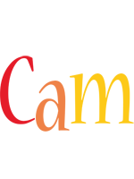 Cam birthday logo