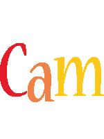 Cam birthday logo