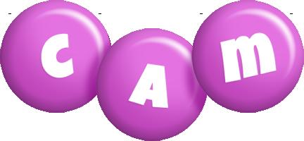 Cam candy-purple logo