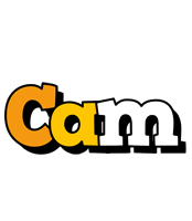 Cam cartoon logo