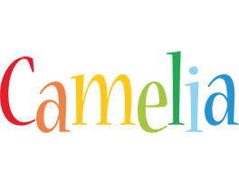 Camelia birthday logo