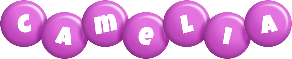 Camelia candy-purple logo