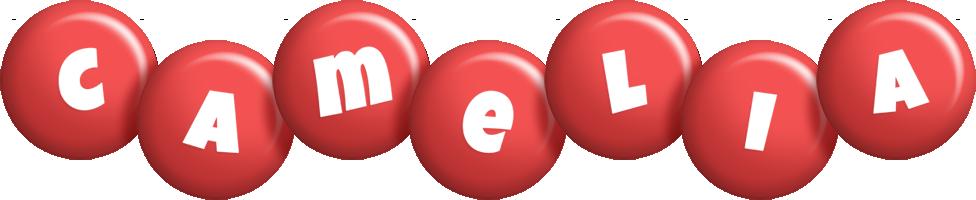 Camelia candy-red logo