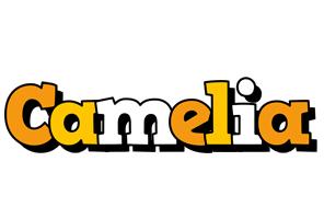 Camelia cartoon logo