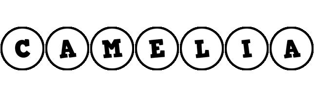 Camelia handy logo