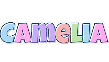 Camelia pastel logo