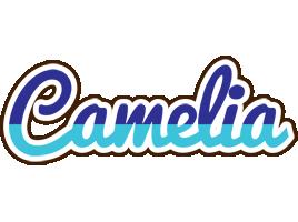 Camelia raining logo