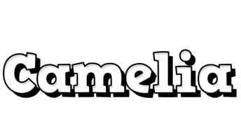 Camelia snowing logo