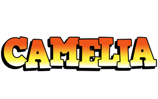 Camelia sunset logo