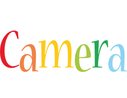 Camera birthday logo