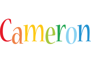 Cameron birthday logo