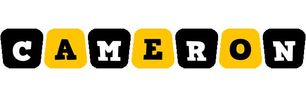 Cameron boots logo
