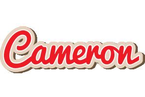 Cameron chocolate logo