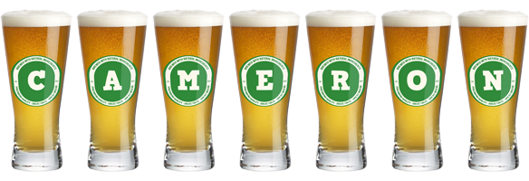 Cameron lager logo