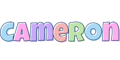Cameron pastel logo
