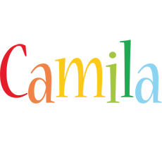 Camila birthday logo