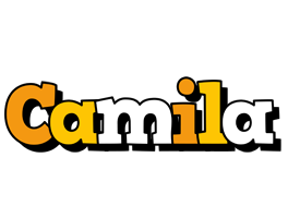 Camila cartoon logo
