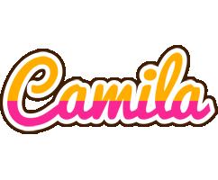 Camila smoothie logo