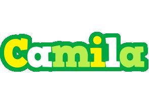 Camila soccer logo