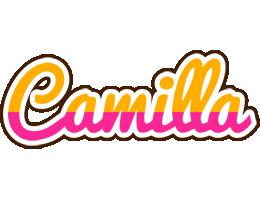 Camilla smoothie logo