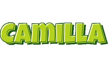 Camilla summer logo