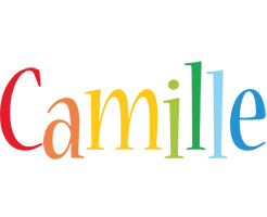 Camille birthday logo
