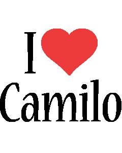 Camilo i-love logo