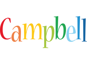 Campbell birthday logo