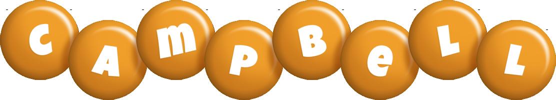 Campbell candy-orange logo