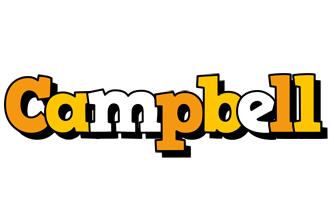 Campbell cartoon logo