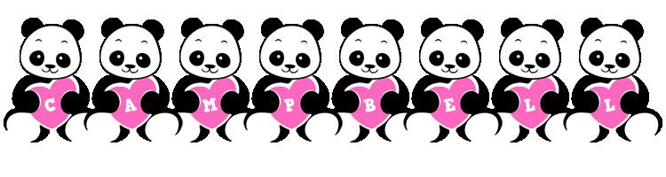 Campbell love-panda logo