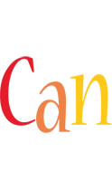 Can birthday logo