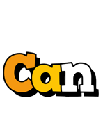Can cartoon logo