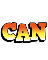 Can sunset logo