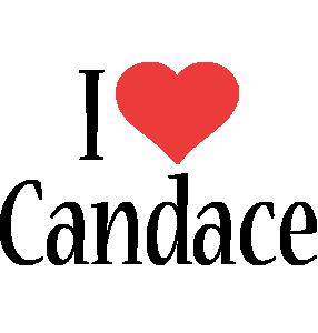 Candace i-love logo