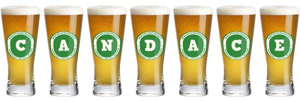 Candace lager logo