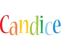Candice birthday logo
