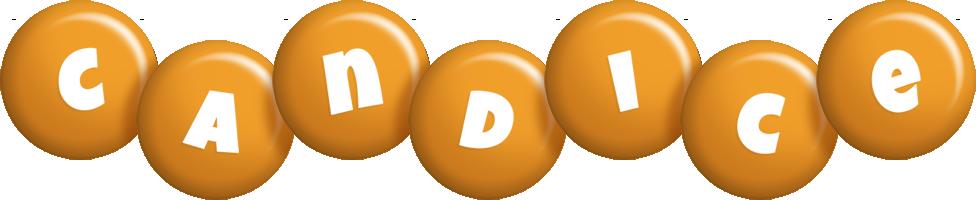 Candice candy-orange logo