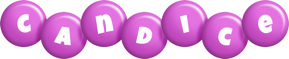 Candice candy-purple logo