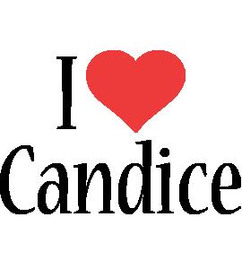 Candice i-love logo