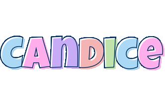 Candice pastel logo
