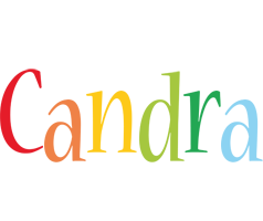 Candra birthday logo